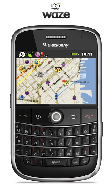 Waze for BlackBerry