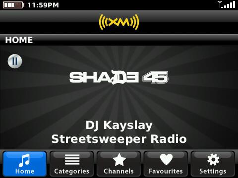 XM Radio Online+