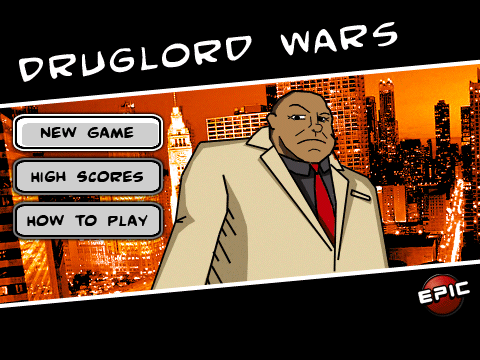 Druglord Wars Revamped For OS 4.5 Devices
