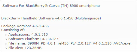 Newest 8900 OS: v4.6.1.310 Officially Released By AVEA