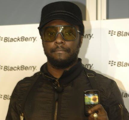 Will.i.am On Hand In Australia To Help Launch BlackBerry Curve 8520