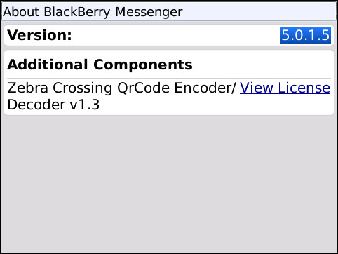 New BlackBerry Messenger 5.0.1.5 Available In Beta Zone