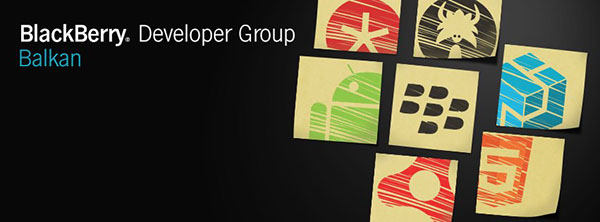 BlackBerry Developer Group Balkan