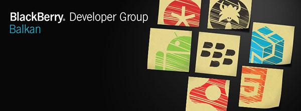 BlackBerry Developer Group Balkan