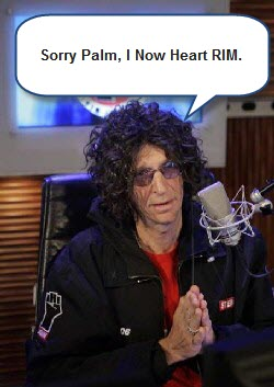 Stern Trades Up Palm For BlackBerry!