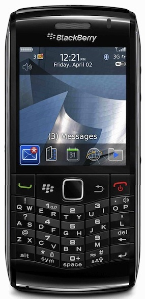 RIM Introduces the New BlackBerry Pearl 3G Smartphone