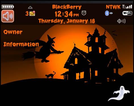 9700 Halloween theme