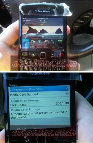 Another BlackBerry Bold 9780 appearance