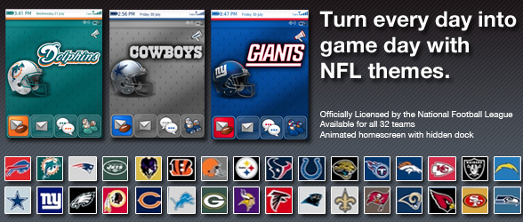 Official NFL themes