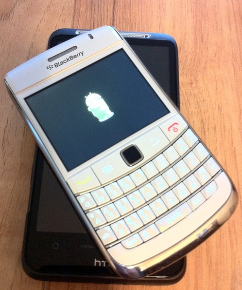 BlackBerry Smartphones already running Android apps?!