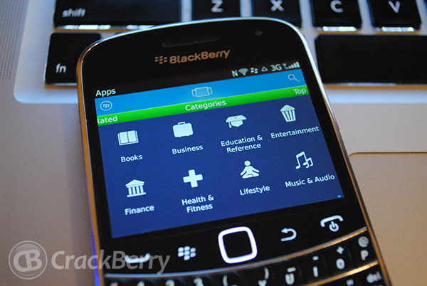 BlackBerry App World updated to v4.0.0.63