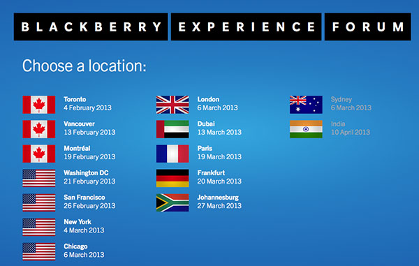 BlackBerry 10 Experience Forum