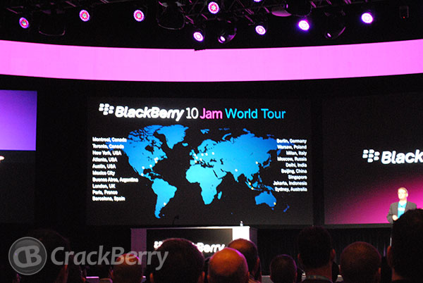 BlackBerry 10 Jam Tour