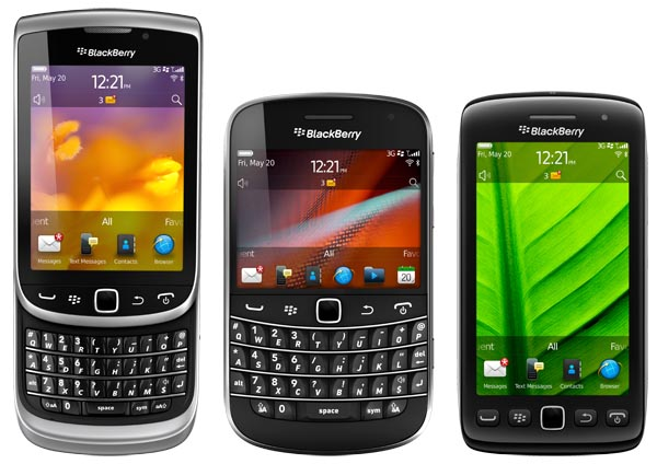 BlackBerry 7 Smartphones - Pick your Form Factor!