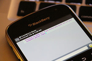 CrackBerry Asks: Should BBM broadcast messages be removed from BlackBerry 10?