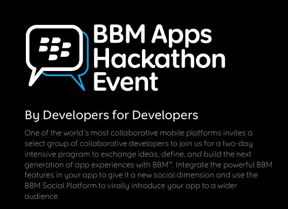 BBM Apps Hackathon