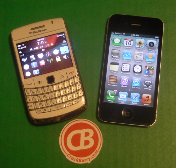 BlackBerry Messenger vs. iMessage