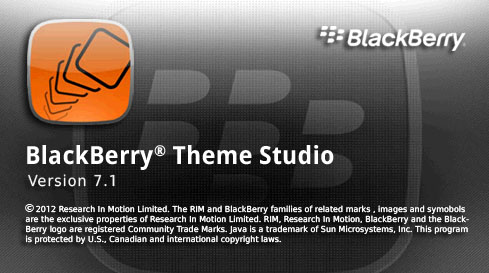 BlackBerry Theme Studio 7.1 Beta leaked