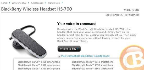 BlackBerry Website