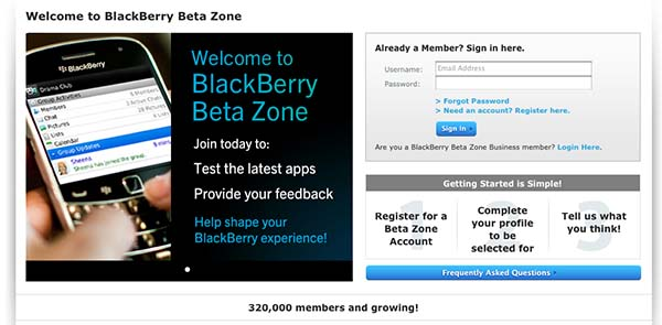 BlackBerry Beta Zone: Makeover Edition