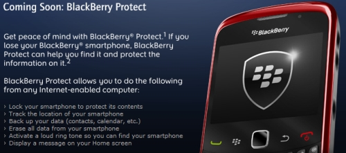 BlackBerry Protect rumored launch dates emerge