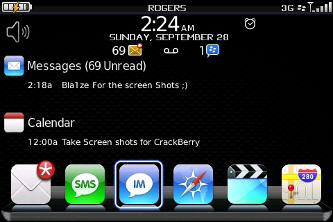 Real iBerry Blocks Custom L Theme For Bold!