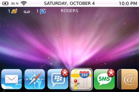 BB OS X Bold Theme