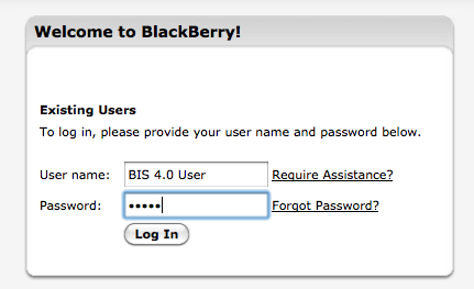 RIM announces BIS 4.0 details
