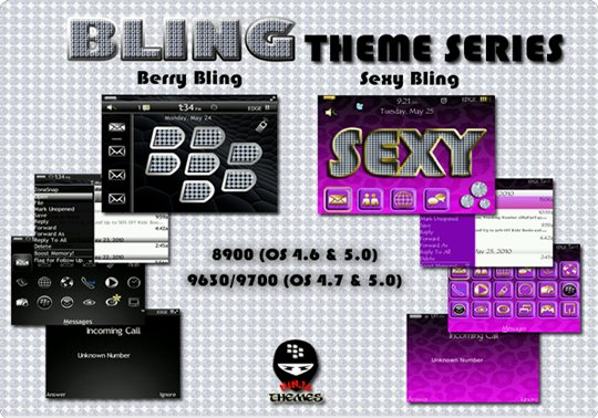 Bling - A Series Of Premium Themes From Ninja Themes