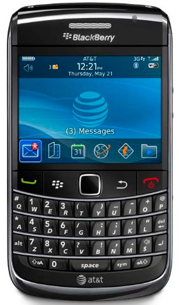 BlackBerry Bold 9700 Now Available From AT&T!