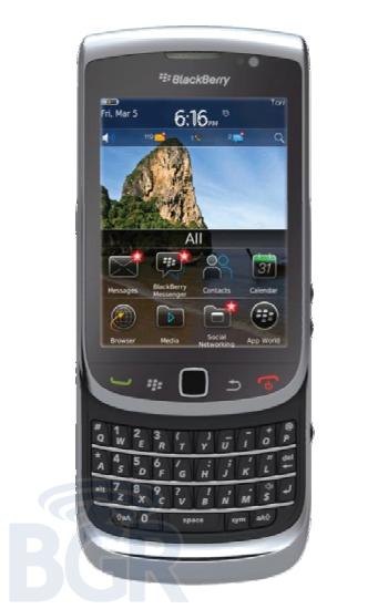 Blackberry Torch 2 details emerge