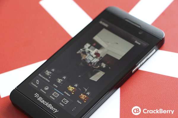 BlackBerry 10 Photo Editor