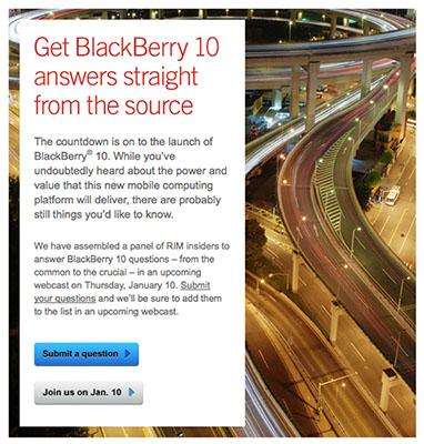 BlackBerry 10 Ready