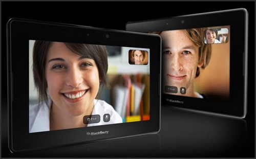 RIM working on its own video conferencing app for the BlackBerry PlayBook