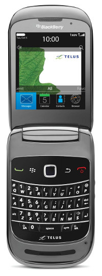 BlackBerry Style 9670 now available from TELUS