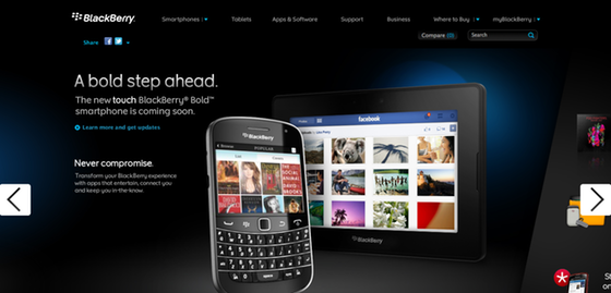 RIM outs the all new BlackBerry Bold Touch ahead of BlackBerry World