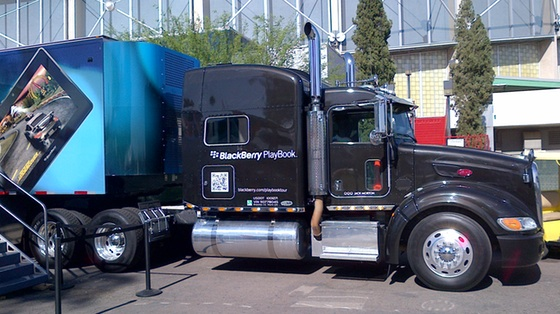 BlackBerry PlayBook Truck
