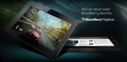 BlackBerry PlayBook possible pricing?!