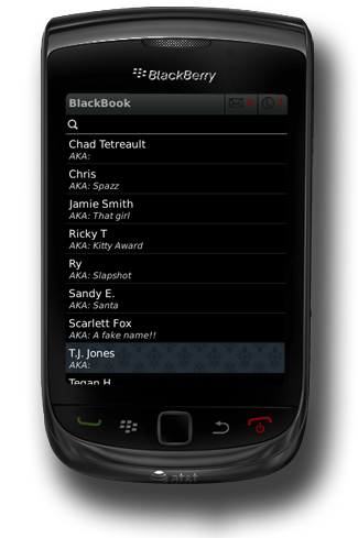 BlackBook For BlackBerry