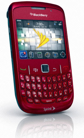BlackBerry Curve 8530 Arriving In Red To Sprint?