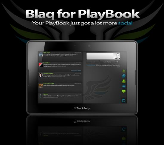 Blaq For PlayBook