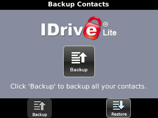 iDrive Allows Wireless Back Up Of Your Contacts For Free!