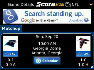 The Score Launches Enhanced Version Of ScoreMobile For BlackBerry