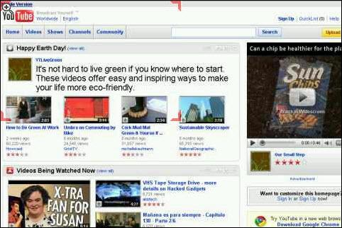 Youtube Integration On Skyfire!