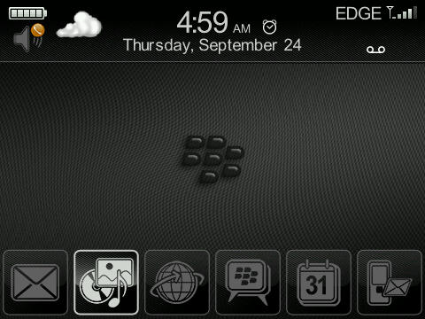Premium Glossy Black Theme Looks Great!