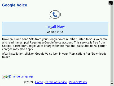 Google Voice Update Returns Version 0.1.5 Available Again
