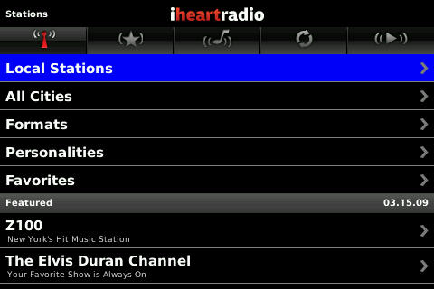 IheartRadio Goes Live With BlackBerry App!