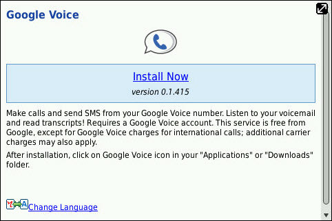 Official Google Voice App Launched Today!