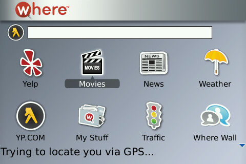 WHERE Now Available For BlackBerry Tour!