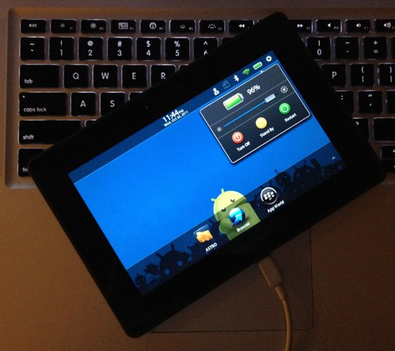 BlackBerry PlayBook Connected